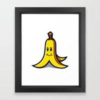 Banan Framed Art Print