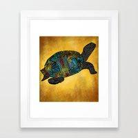 Tortus Framed Art Print