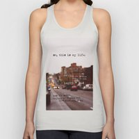 perks of being a wallflower - happy + sad Unisex Tank Top