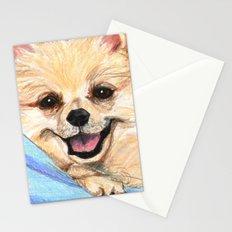 Preppy Pomeranian Stationery Cards