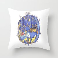 Not All Those Who Wonder Are Lost  Throw Pillow