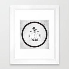 Nelson Park Framed Art Print