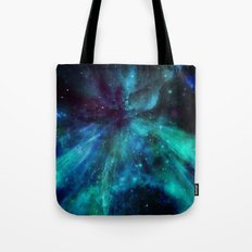 A Colorful Space Among T… Tote Bag