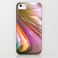 iPhone Cases featuring 880 Fractal by VLKAE