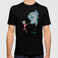 Deadspecto Pooltronum! Mens Fitted Tee Black SMALL