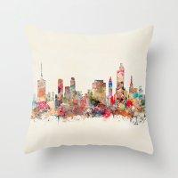 Tulsa Oklahoma Throw Pillow