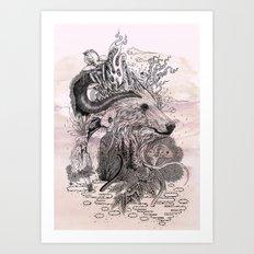Forest Warden Art Print