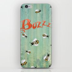 Buzzz iPhone & iPod Skin