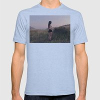 Mystery in the Mountains Mens Fitted Tee Athletic Blue SMALL