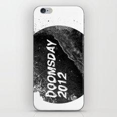 Doomsday 2012 iPhone & iPod Skin