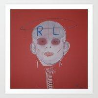R & L Art Print