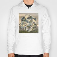 Geometric mountains 1 Hoody