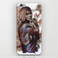 Lara Ink By Carographic,… iPhone & iPod Skin