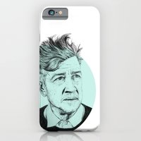 iPhone & iPod Case featuring David Lynch by Ruth Hannah