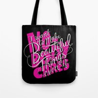 ...even if nobody cares Tote Bag