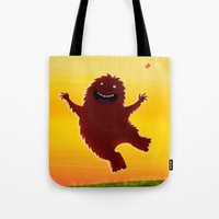 I Found A Bigfoot Tote Bag