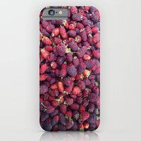 iPhone & iPod Case featuring Berries in Paloquemao - Bayas en Paloquemao by David Hernández-Palmar