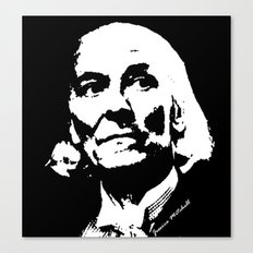 William Hartnell- 1st Doctor (Doctor Who) Canvas Print