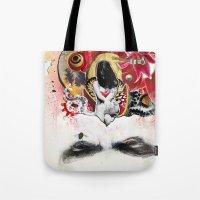 MINGA x Sleepless is the Watchful Eye Tote Bag