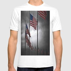 A Storm is Brewing Mens Fitted Tee White SMALL