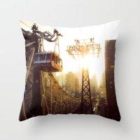 Hook, Line & Sinker Throw Pillow
