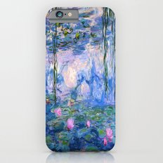 Water Lilies Monet iPhone 6 Slim Case