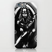 iPhone & iPod Case featuring The TechMother by GreenEyedPaintGuy