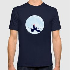 Kiki's Delivery Service Poster Mens Fitted Tee Navy SMALL