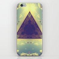 Triangles in the sky iPhone & iPod Skin