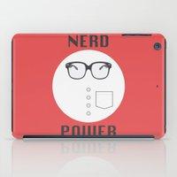 Nerd Power iPad Case