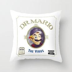 THE VIRUS Throw Pillow