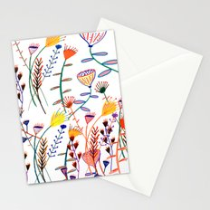 Flowers - floral - flowers - pattern  Stationery Cards