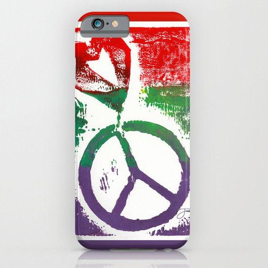 Peace & Love iPhone & iPod Case