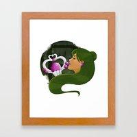 Setsuna Framed Art Print