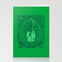 Medicinal Marijuana Stationery Cards