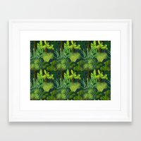 Endless Jungle Framed Art Print