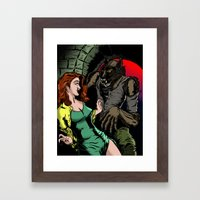 NIGHT STALKER Framed Art Print