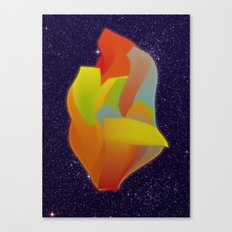 Shocking Colors Canvas Print