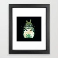 My Happy Neighbor Framed Art Print