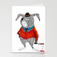 Rabbit Mafia Stationery Cards