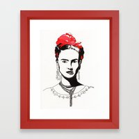 Frida Framed Art Print