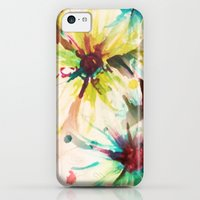iPhone 5c Cases featuring Floral Doodles by Larissa Ria Loomans