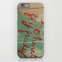 iPhone & iPod Case featuring o heart by Evelina Matvejuk