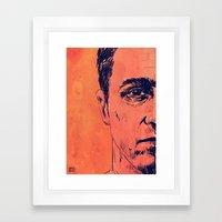 Icons: Edward Norton In … Framed Art Print