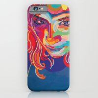 iPhone & iPod Case featuring self portrait n1 by Estelle F