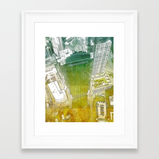 view from Eureka Framed Art Print