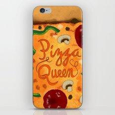 Pizza Queen iPhone & iPod Skin