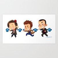 The Doctors! Art Print
