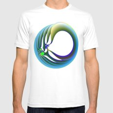 Trapped Mens Fitted Tee White SMALL