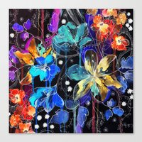 Lost In Botanica II Canvas Print